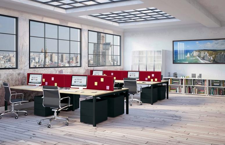 Bureau modulaire Altaï, maîtrisez vos espaces collaboratifs