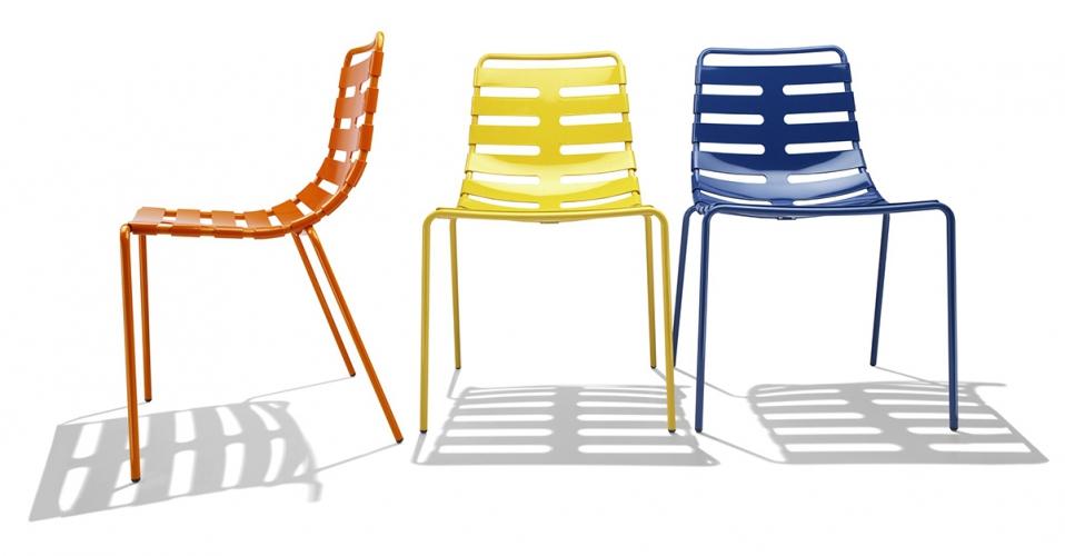 Chaise d'accueil Orelle, votre aménagement haut en couleur