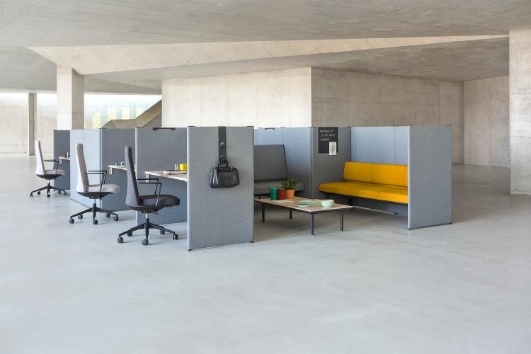 Cloisons amovibles Nova adaptées à vos espaces et besoins