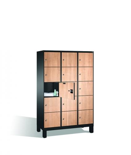 Vestiaires Comici, armoires à casiers élégantes et hygiénique