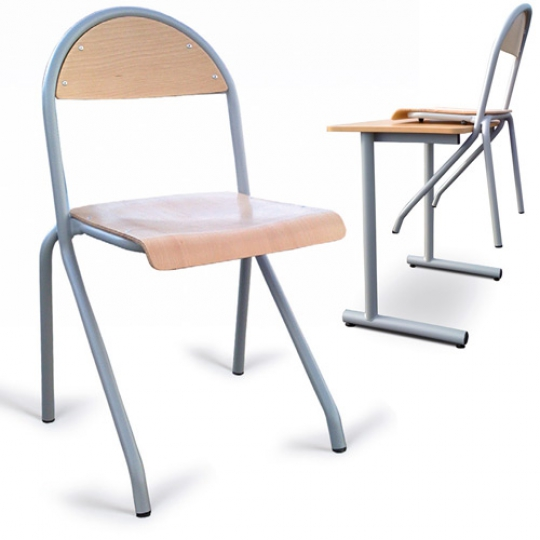 Mobilier scolaire chaise empilable