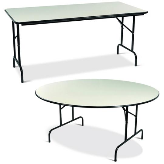 Mobilier de collectivité table pliante d'intérieur