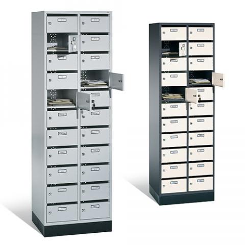 Meuble boîte aux lettres, solution de rangement du courrier