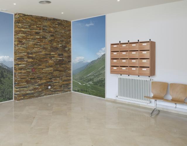Boite aux lettre Sarenne, meubles de tri-courriers