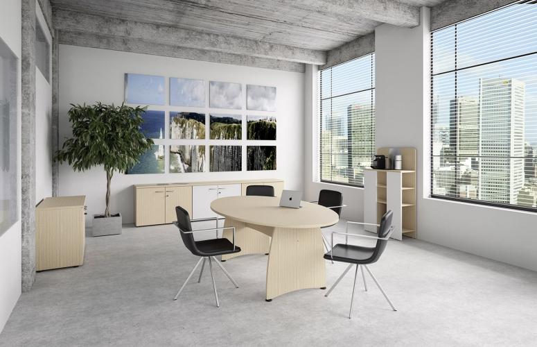 Table De R Union Modulable Corbassi Re Benelux Office